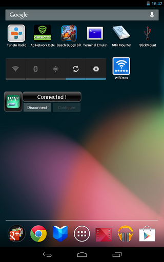 how to connect usb modem to nexus 7 tablet
