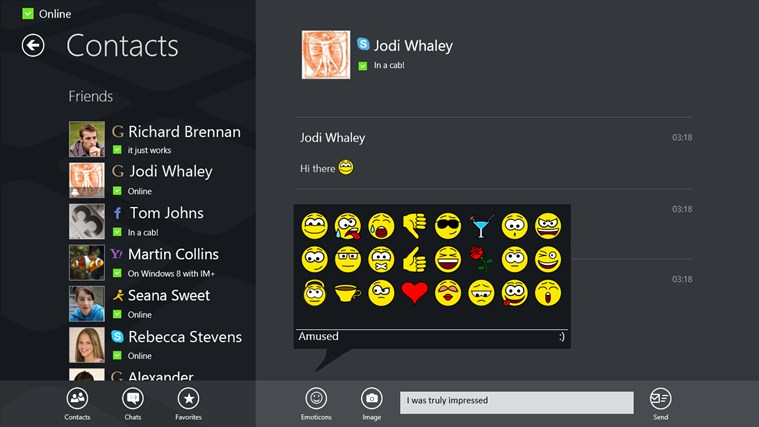 Messenger For Windows 8