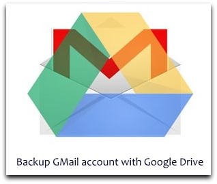 Backup gmail with Google Drive