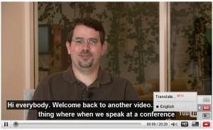 youtube automatic subtitle