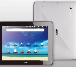 Breeze Android Tablets Introduced by AOC