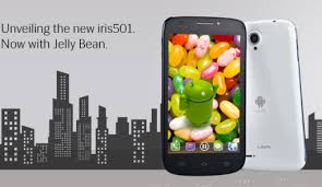 Jelly Bean Firmware in Lava Mobile: Lava Iris 501