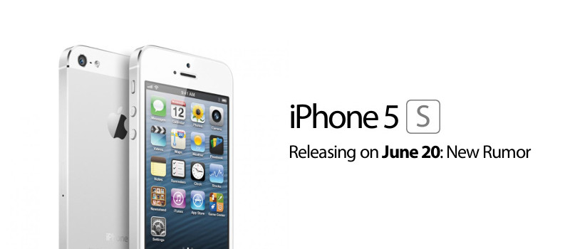 A Rumour Has Spread That iPhone 5S is Likely to be Announced on June 20
