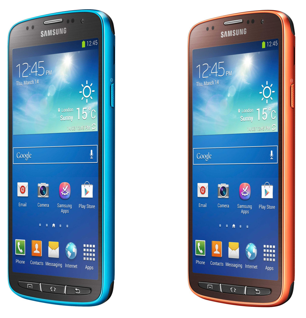 Samsung Announces the IP67 Galaxy S4 Active Officially