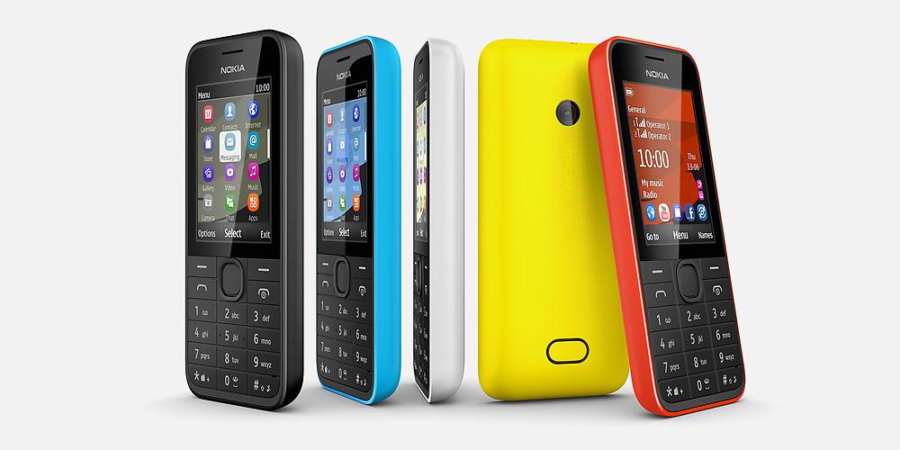 Nokia 207, Nokia 208, Nokia 208 dual-SIM feature phones unveiled