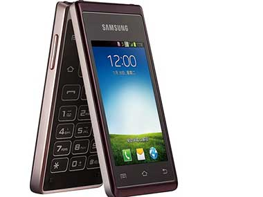 Samsung W789 Android Flip Phone